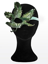 Eye Patch Hemp Leaf Made of Leather