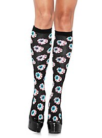 Eyeball Knee Socks