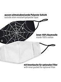 fabric mask cobwebs