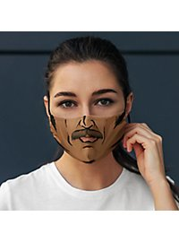Fabric mask Comic Man