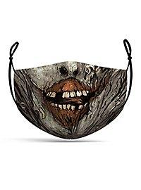 Fabric mask comic zombie
