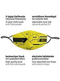 Fabric mask Cyberpunk