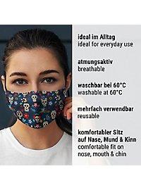 Fabric mask Dia de los Muertos