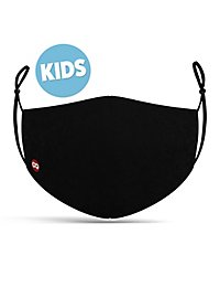 Fabric mask for children black