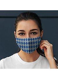 fabric mask for children magic school blue