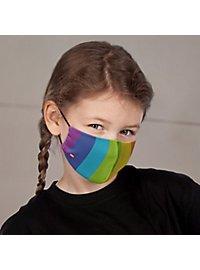 Fabric mask for children rainbow