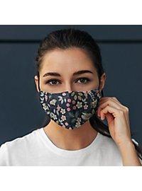 Fabric mask Hawaii Flower
