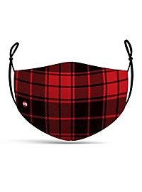 Fabric mask lumberjack