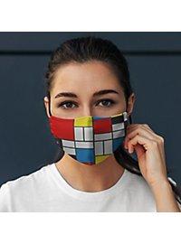 Fabric mask Mondrian