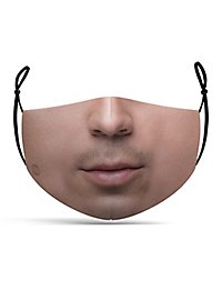 Fabric mask mouth
