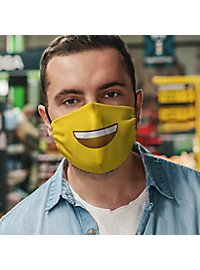 Fabric mask smiley