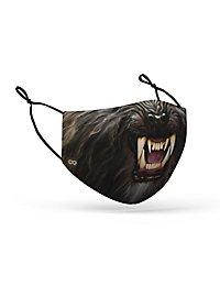 Fabric mask werewolf