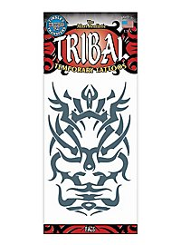 Face Tribal Temporary Tattoo