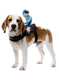 Facteur sur selle pour chien