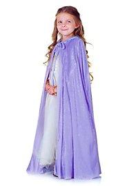 Fairy tale cape for children purple