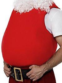 Fake belly Santa Claus