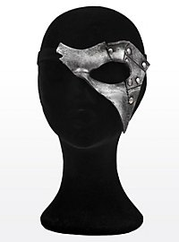 Fantasma argenté Masque en cuir