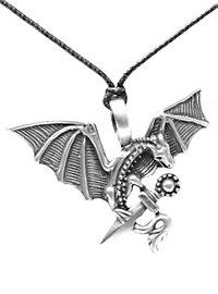 Fantasy Drachen Kette