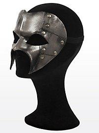 Fantôme de fer steampunk Masque en cuir