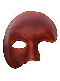 Fantôme marron Masque en cuir vénitien