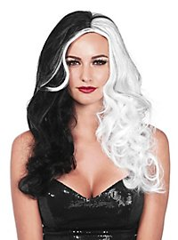 Fashion Wig black & white