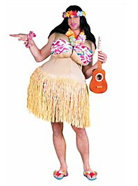 Fat Hula Girl Costume