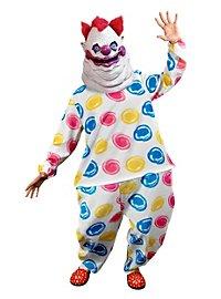 Fatso Killerclown Kostüm mit Maske