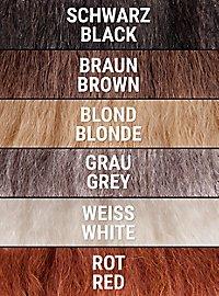Favoris de bête sauvage en cheveux naturels