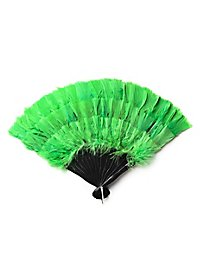 Feather Fan green