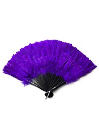 Feather Fan purple