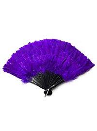 Feather Fan purple
