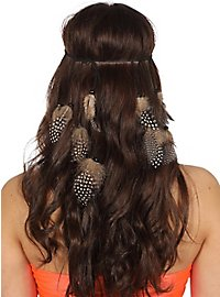 feather hairband nature