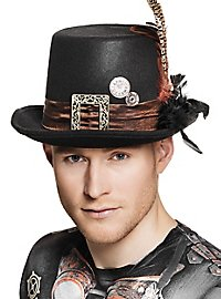 Feathered Steampunk Hat