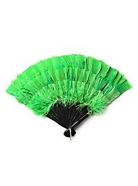 Federfächer grün