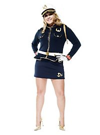 Femme capitaine de marine sexy Déguisement