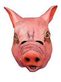 Ferkel Maske aus Latex