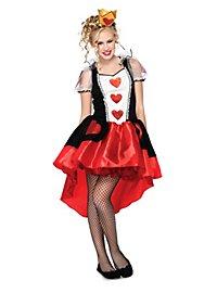 Fesche Herzkönigin Kostüm für Jugendliche