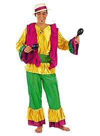 Feuriger Sambatänzer Kostüm