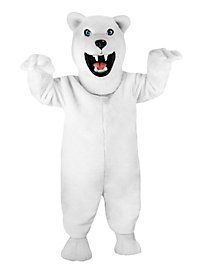 Fierce Polar Bear Mascot