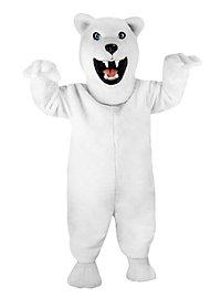 Fierce Polar Bear Mascot