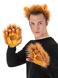 Fingerless Lions Gloves
