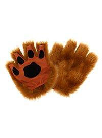 Fingerless Paws brown