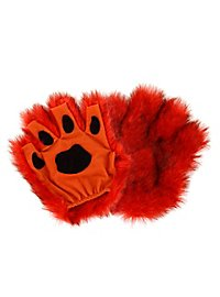 Fingerless Paws orange