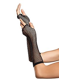 Fingerlose Fishnet Handschuhe