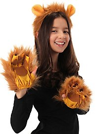 Fingerlose Löwen Handschuhe
