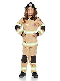Fire chief child costume