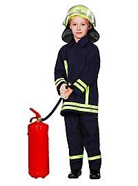 Fireman Kids Costume