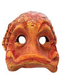 Fisch orange Venezianische Maske