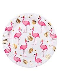 Flamingo Pappteller 6 Stück