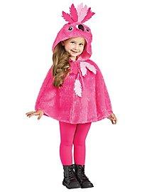 Flamingo Poncho für Kinder